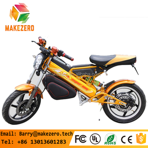 2017 China cheap folding electric chopper motorcycle scooter with 800w motor and lithium battery