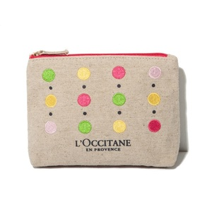 wholesale jute cotton pouch makeup toiletry cosmetic bag