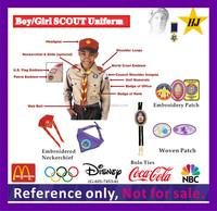 Boy/Girls Scout Uniform pin badge