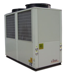 2018 Hstars plastic chiller 30 ton air cooled chiller price,chiller air conditioning system for industrial