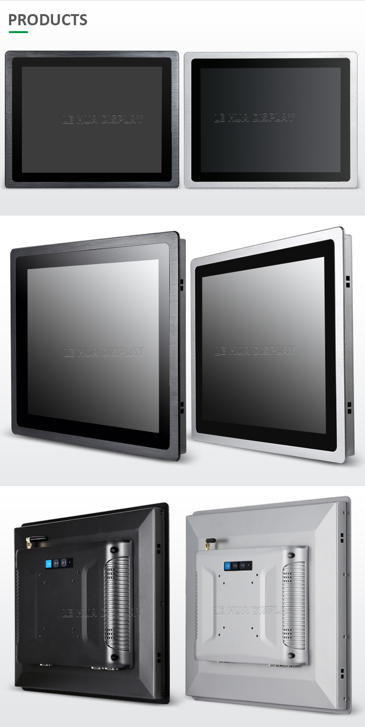Waterproof Industrial 2/4/8GB RAM intel J1900 10.1'' lcd touch screen panel pc