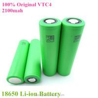 18650 vtc4 battery US18650VTC4 2100mah high drain battery 30A cell US18650VTC4/wholesale 18650 vtc4 battery
