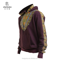 wholesale African men clothing dashiki hoodie sweater