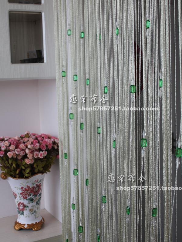 Wholesale Upscale Bright Thread Beads Crystal Bead Curtain