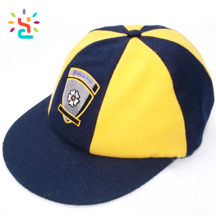7a4b857e Custom baggy cricket caps Wholesale design flat brim baseball cap Customized  your logo cricket cap brand factory online shopping