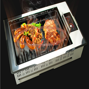 Smokeless Infrared Korean Bbq Grill Table/indoor Electric Bbq Grill ...