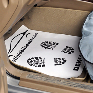 white paper car mats/ disposable floor mats for cars/factory made