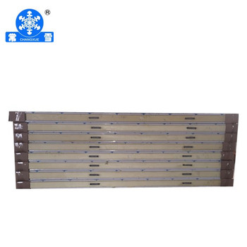 200mm cold room pu panel with 0.3mm galvanized steel