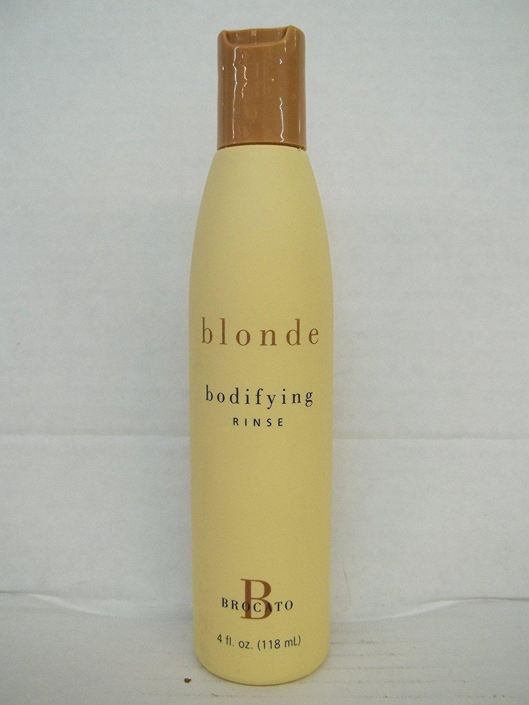 Brocato Blonde Bodifying Rinse - 4 Fl. Oz. Bottle