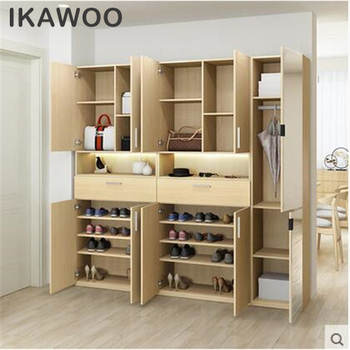Home Furniture Design Mdf Shoe Rack Cabinet Storage