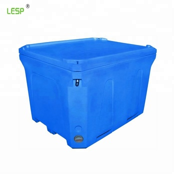 220L Large Plastic Storage Tub Plastic Fish Bin With CE Certificate