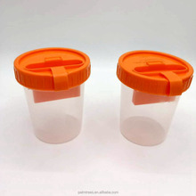 120ML PP lab medical hospital disposable diagnose consumable urine cup pee collection Sample Plastic bottles