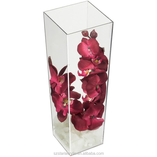 Clear Square Acrylic Vase Source Quality Clear Square Acrylic Vase