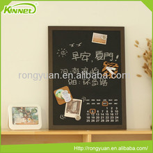 high quality decorative magnetic writing metal chalkboard