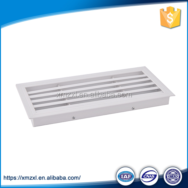 Ventilation ABS exhaust return air grille