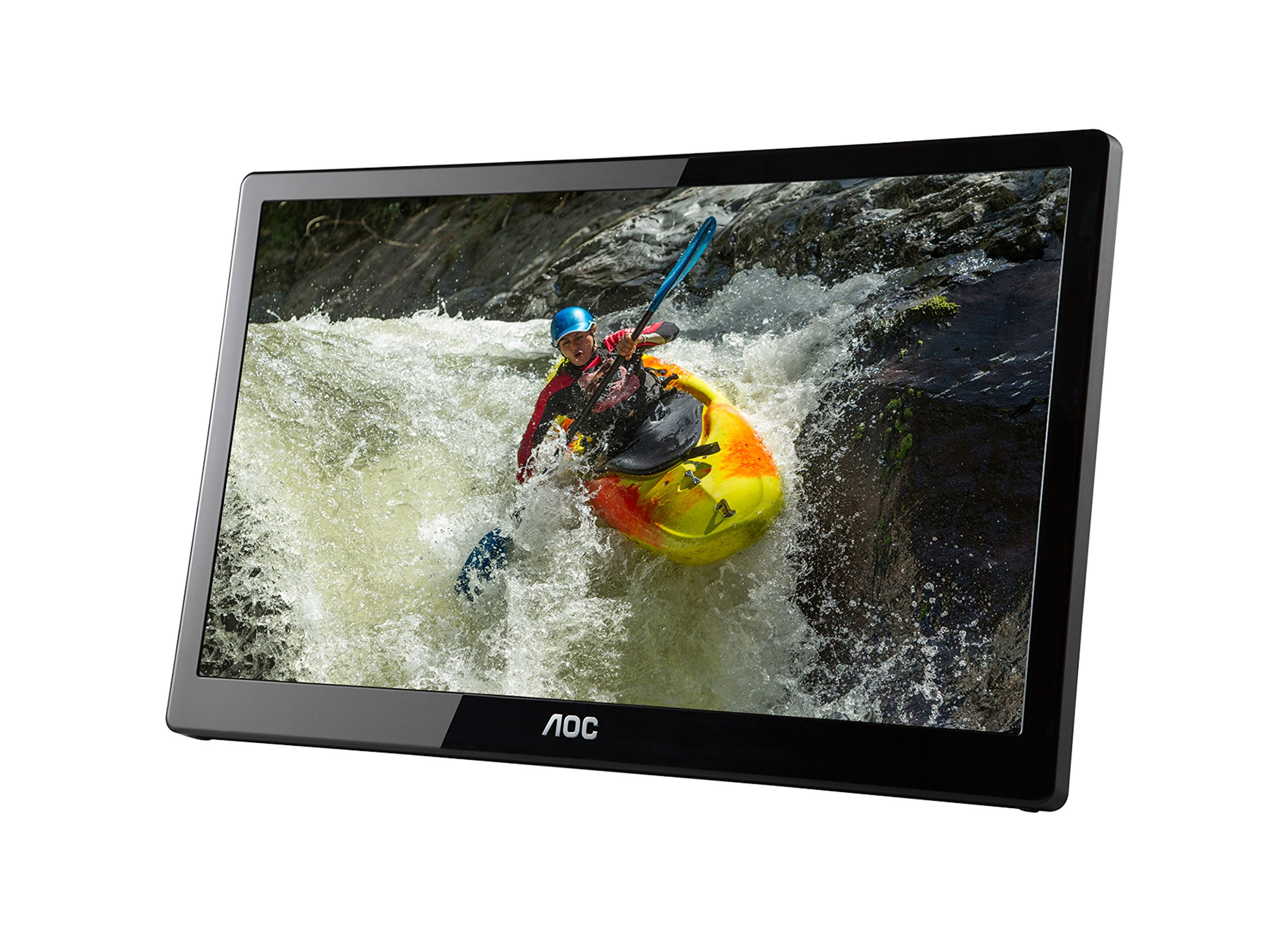 AOC e1659Fwux- Pro 15.6-Inch Class, Full HD 1920x1080 Res, 300 cd/m2 Brightness, USB 3.0-Powered, Portable LED Monitor