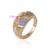 Simple engrave daily wear fancy elegant AAA Cz Stone ring