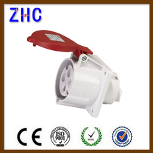 4 Pin 32A 400V waterproof electric industrial eu plug and socket