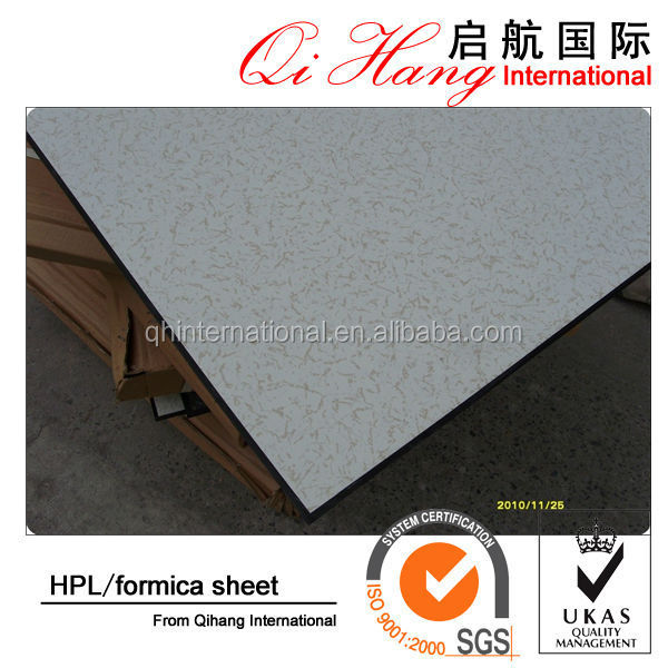 High quality hpl countertop / high-pressure laminates / formica sheet for decoration