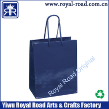 Customized printing royal road recycle art paper bag