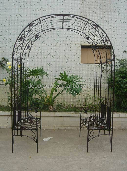 Metal Garden Arch With Bench Wholesale, Garden Arch Suppliers   Alibaba