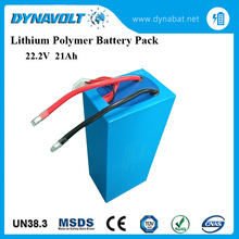 High discharge rate 22.2V 21Ah RC Airplane Lithium Polymer Battery Pack