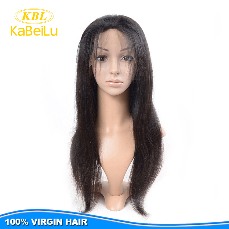 KBL Virgin Brazilian full lace wig,wholesale wigs and hairpieces guangzhou wig,supply 100% virgin european hair full lace wig
