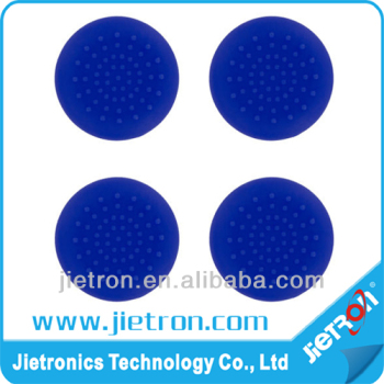 Blue TPU Silicone Gel Thumb Grip Stick Cap for PS4 controller