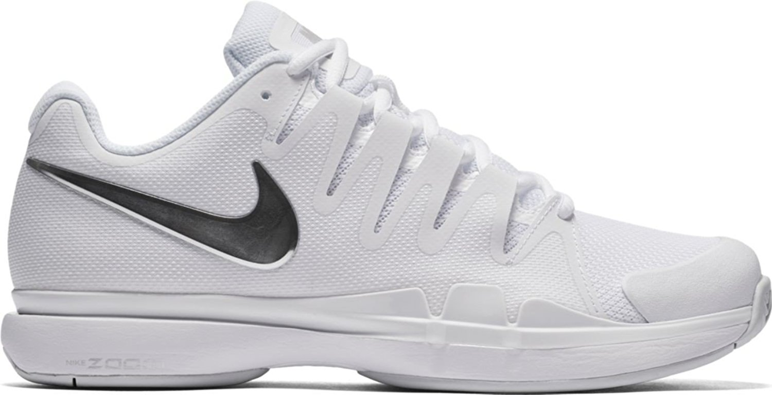 Get Quotations · Nike Zoom Vapor 9.5 Tour White/Metallic Silver Women's  Tennis Shoes