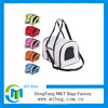 Bright color polyester dog food bags dog overnight sleeping bag