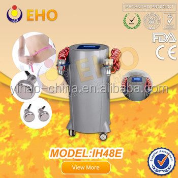 Ultrasound &LED light Lipo cavitation slimming Device with pads IH48E(Factory)