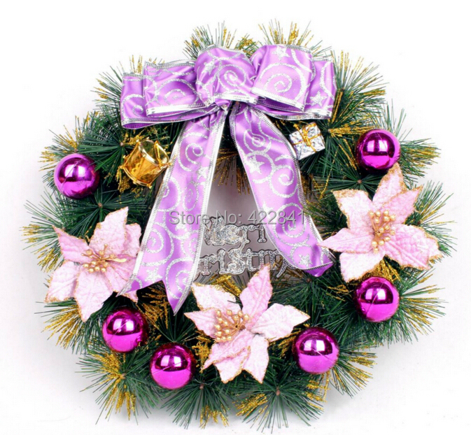 Decorative Hanging Door Flowers Wreath
