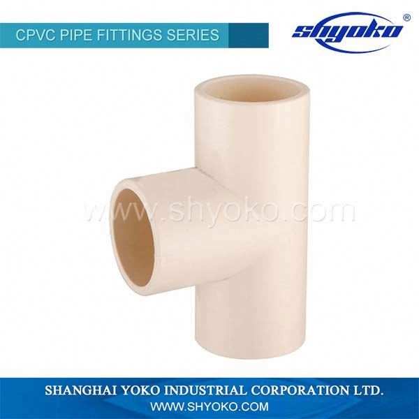 ASTM D-2846 cpvc equal tee reducer price