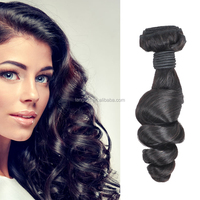 100% Virgin Hair Peruvian Virgin Hair Body Wave Peruvian Loose With Lace Frontal Closure Hair