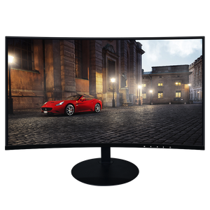 Curved 24 inch wide screen 144Hz frameless lcd gaming monitor