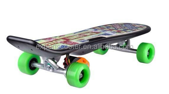 200W electric skateboard sports for asia market remote control electric skateboard