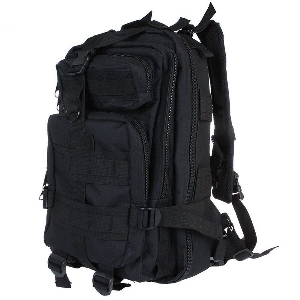 Neewer® 30L 3P Comfortable Waterproof Assault Pack Tactical Backpack Molle Bag 600D Nylon (Black)