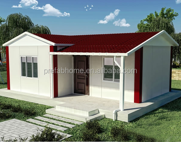 Low Cost EPS Fiber Cement Sandwich Panel Prefabricated House Casa