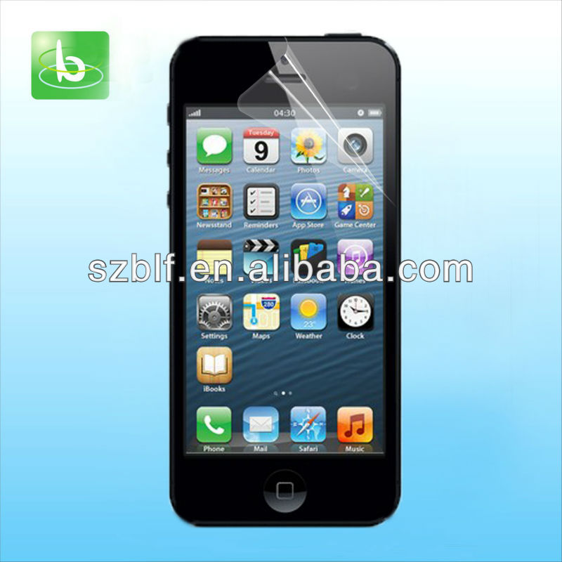 Factory price waterable lcd screen protection for iphone 5s Paypal Escrow