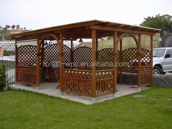 en bois pergola gazebo en plastique bois pergola wpc pergola pour voiture arches pavillon. Black Bedroom Furniture Sets. Home Design Ideas