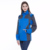 Long sleeves women wind waterproof fleece lining jacket with hood