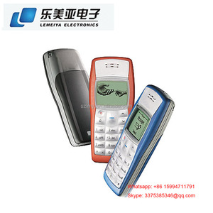 1100 Unlocked Mobile Phone GSM 900/1800 Features Fashion Cellphones For Nokiaa 1110 1112 105 107 108