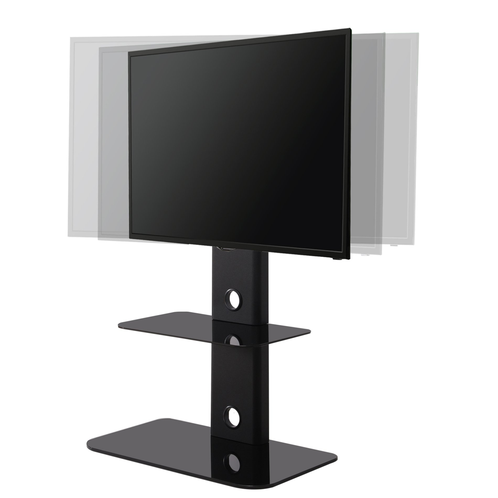 Get Quotations Fitueyes Tv Stand With Swivel Mount For Flat Screen Lcd Led Plasma Floor