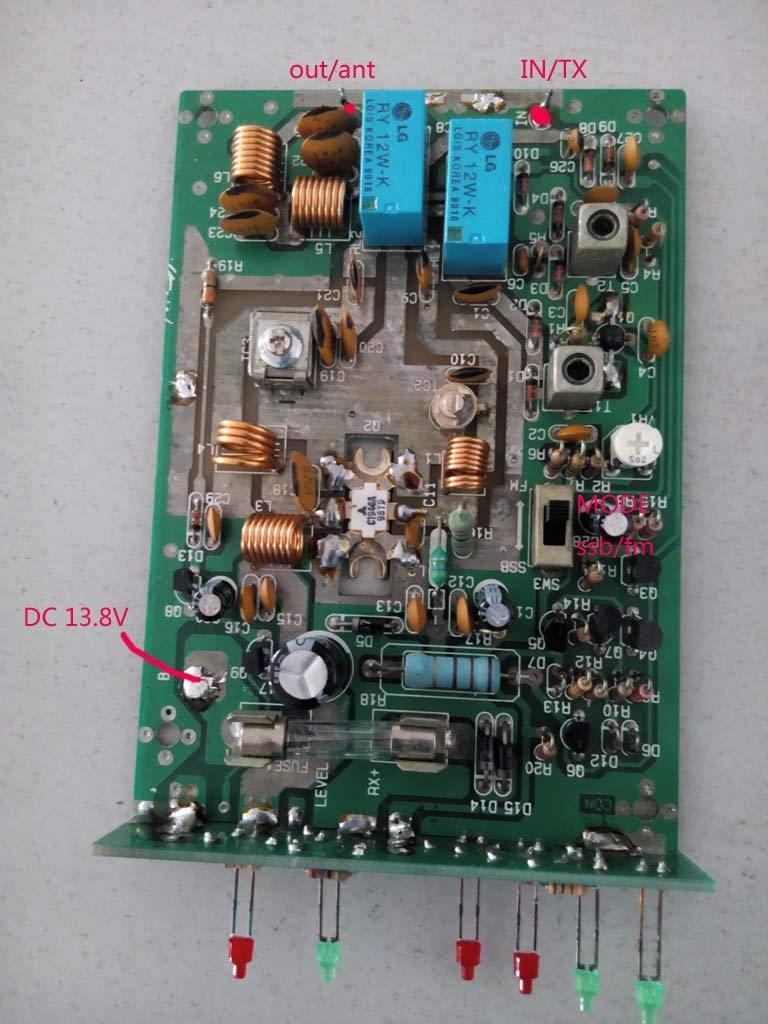 3.5-30MHZ 90W HF power Amplifier FOR FT-817 SUNSDR2 KX3 ic-703 + 80m-10m HF LPF