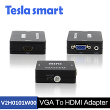 Дешевые Цены DC 5 В USB power Supply Full HD Micro <span class=keywords><strong>VGA</strong></span> ДЛЯ HDMI Конвертер