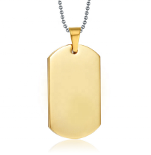 Versorgung halskette <span class=keywords><strong>dogtag</strong></span> benutzerdefinierte metall dog tag in China