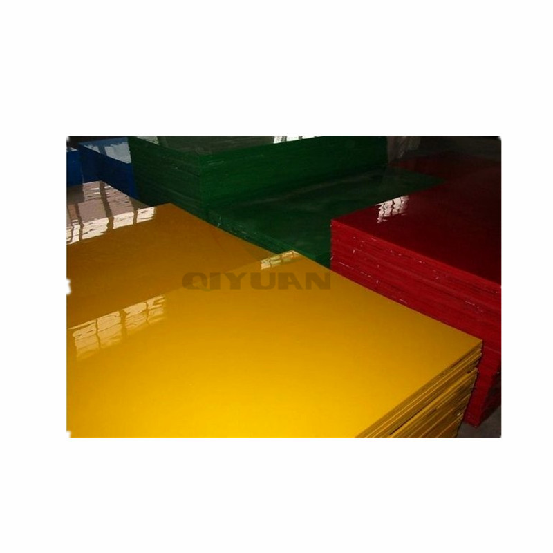 different thickness extruded polypropylene sheet PP board