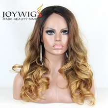 "Joywigs 20 ""Braziliaanse Haar Drie Tone Ombre <span class=keywords><strong>Blonde</strong></span> <span class=keywords><strong>Pruik</strong></span> Gebleekte Knopen Beyonce Front Lace <span class=keywords><strong>Pruik</strong></span>"