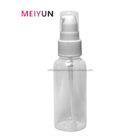 Alibaba-hot well 55ml-90ml cosmetic lotion water spray or pump plastic bottle