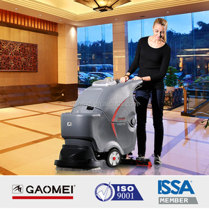 Dust cleaning equipment GM50 concrete walk behind floor scrubber
